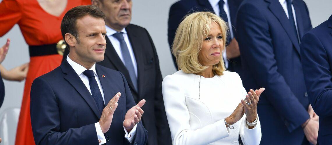Brigitte et Emmanuel Macron, ce petit geste tendre passé presque inaperçu lors des célébrations du 14 juillet - Gala