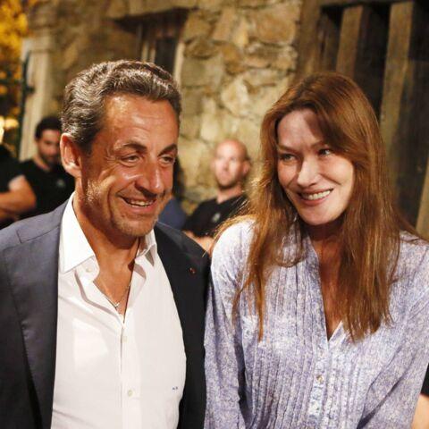Carla Bruni, fière de sa famille recomposée: «On a eu beaucoup de chance avec mon mari»