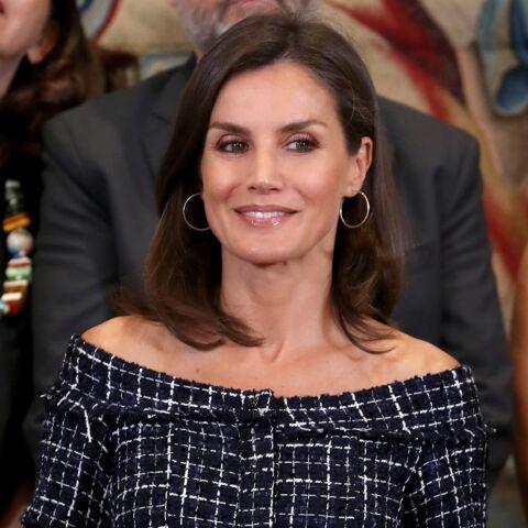 PHOTOS – Letizia d'Espagne cultive un look à la Kate Middleton de pied en cap
