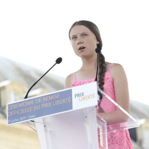 PHOTOS – Greta Thunberg: qui est cette jeune fille de 16 ans reçue à l'Assemblée