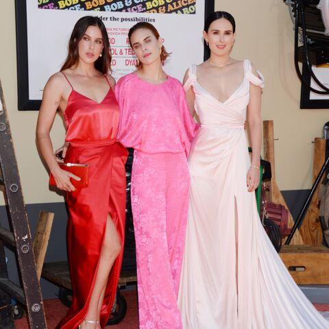 PHOTOS – Scout, Rumer et Tallulah, les filles de Demi Moore et Bruce Willis, font sensation en accordant leurs tenues