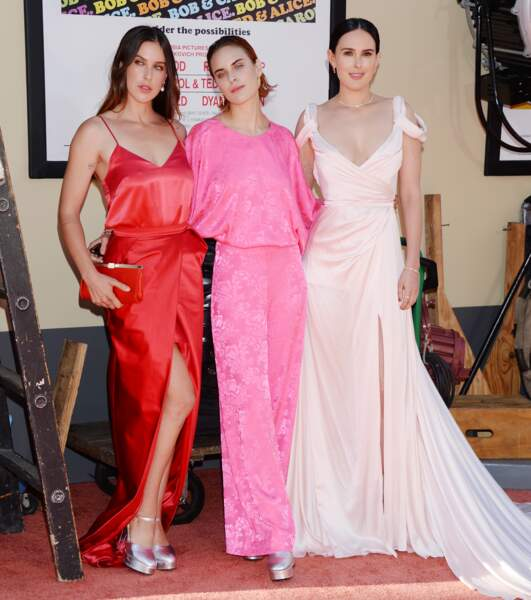 Rumer Willis, Scout Willis, Tallulah Willis : les trois sœurs très stylées posent rarement ensemble