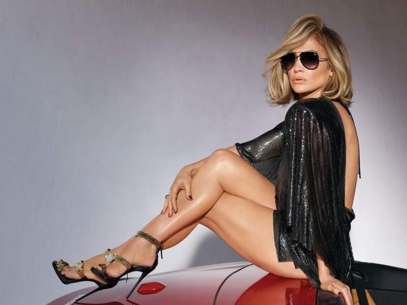 Jennifer Lopez et son financé Alex Rodriguez posent pour la nouvelle campagne du lunetier australien Quay en 2019