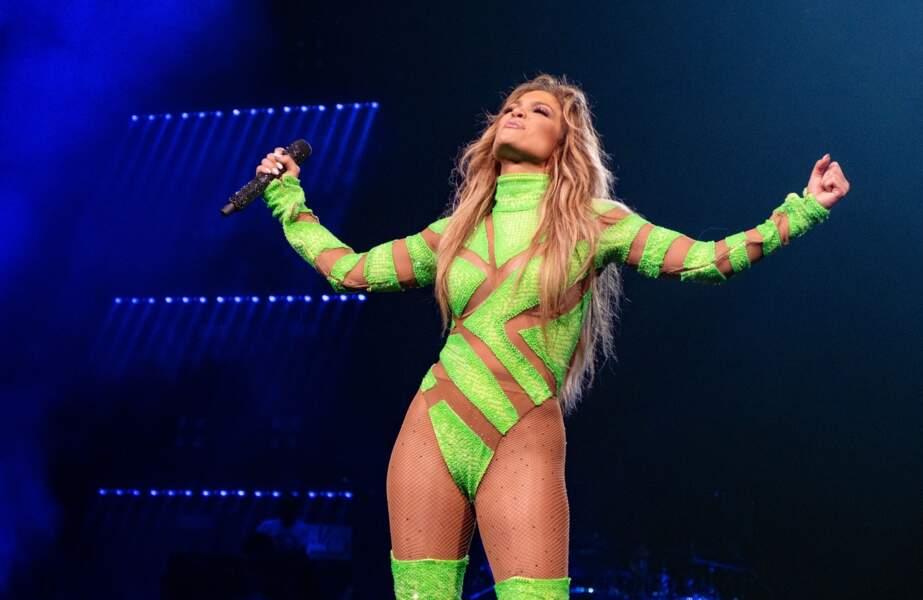 Jennifer Lopez à 50 ans et toujours un corps de rêve Milwaukee le 3 juillet 2019.