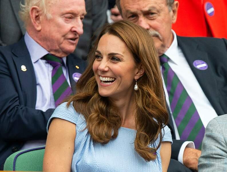 Kate Middleton utilise un élixir de beauté à l'huile d'argan pour prendre soin de ses longueurs.