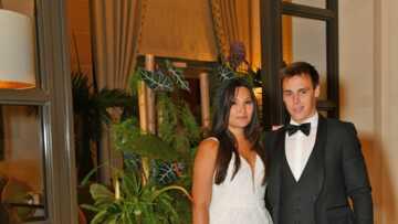 PHOTO – Mariage de Louis Ducruet et Marie Chevallier: elle opte pour une robe courte en clin d'oeil à sa belle-mère, Stéphanie de Monaco