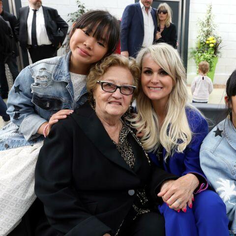 Mamie Rock, gaga de ses arrière-petits-enfants: sa jolie déclaration à sa Joy Hallyday
