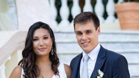 Mariage de Louis Ducruet et Marie Chevallier\u0026nbsp; son fr\u0026egrave;re  Bertrand a r\u0026eacute