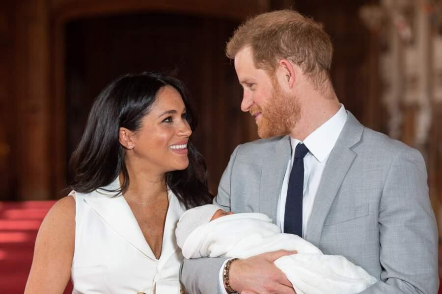 Meghan Markle et le prince Harry ont donné naissance à leur premier enfant, Archie, le 6 mai 2019