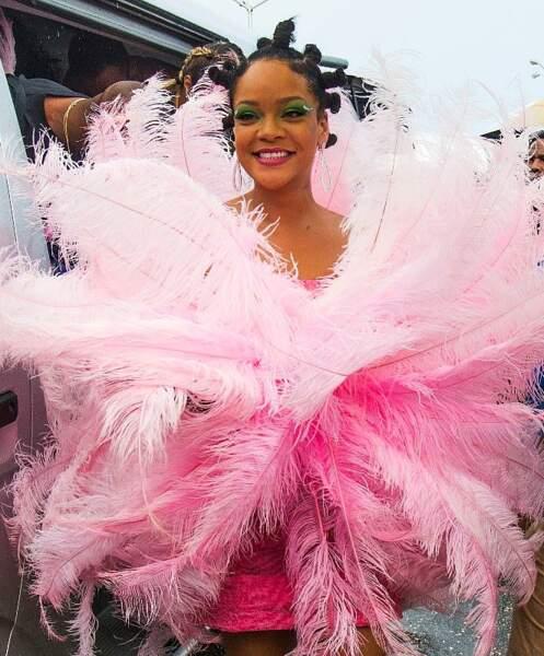 Rihanna s'élance dans la parade
