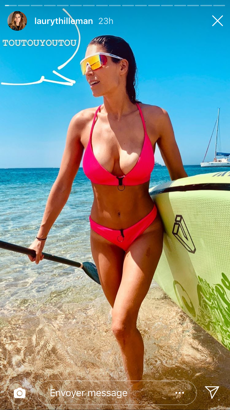40f435861867 PHOTO – Laury Thilleman dévoile son corps de rêve dans un bikini ...