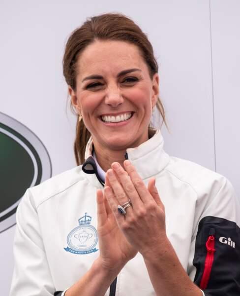 La duchesse de Cambridge se maquille seule