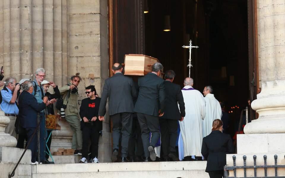 Obsèques de Jean-Pierre Mocky en l'église Saint-Sulpice
