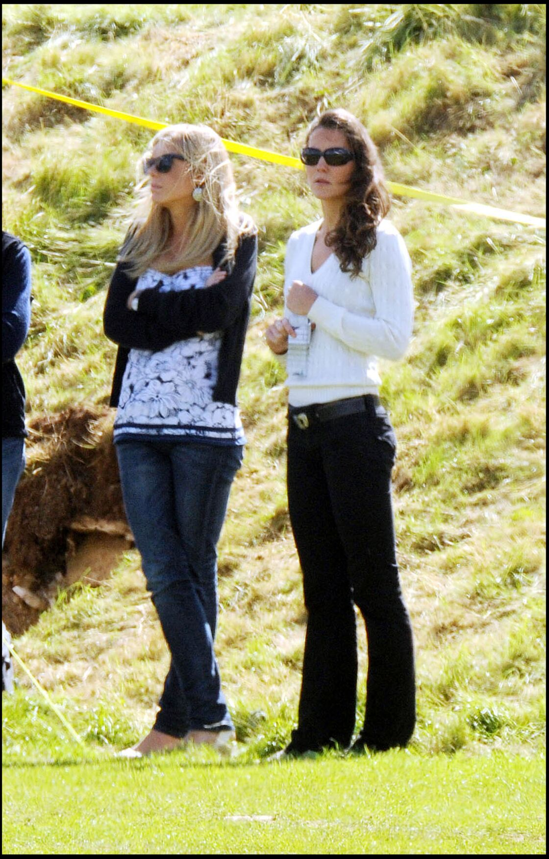 Chelsy Davy et Kate Middleton, en juin 2008.