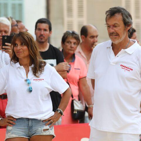 PHOTOS – Jean-Luc Reichmann et sa femme Nathalie s'éclatent sous le soleil de Saint-Tropez