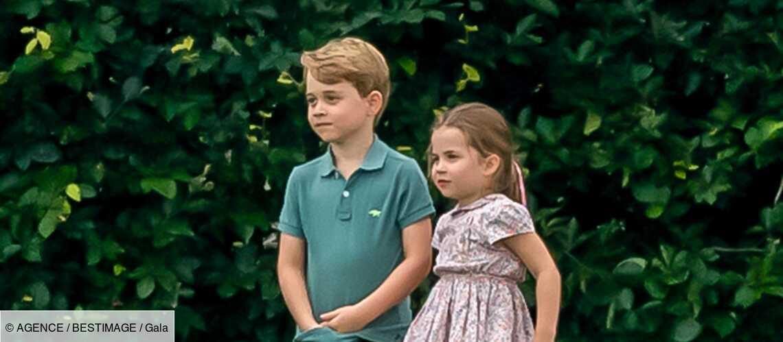 Le prince George « plus réservé » que la princesse Charlotte - Gala