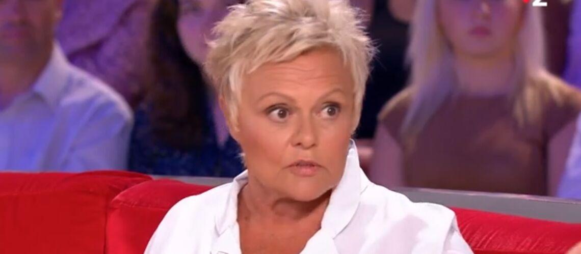 VIDÉO – L'émouvant appel de Muriel Robin à Emmanuel Macron, elle n'a jamais eu de réponse à sa question - Gala