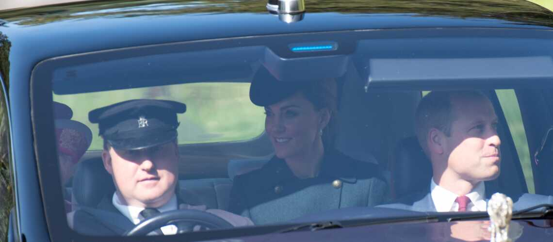 PHOTOS – Kate Middleton et William, tout sourire, savourent leur week-end à Balmoral avec la reine - Gala