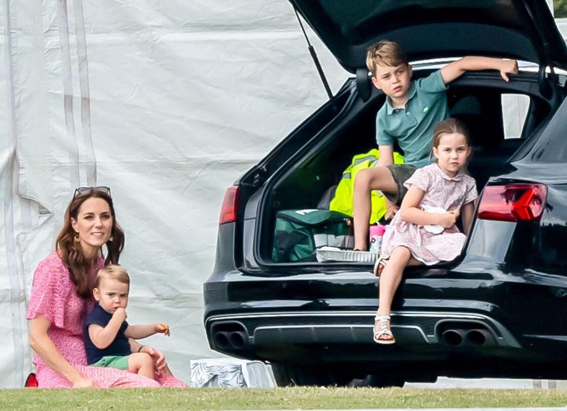 Kate Middleton et ses trois enfants