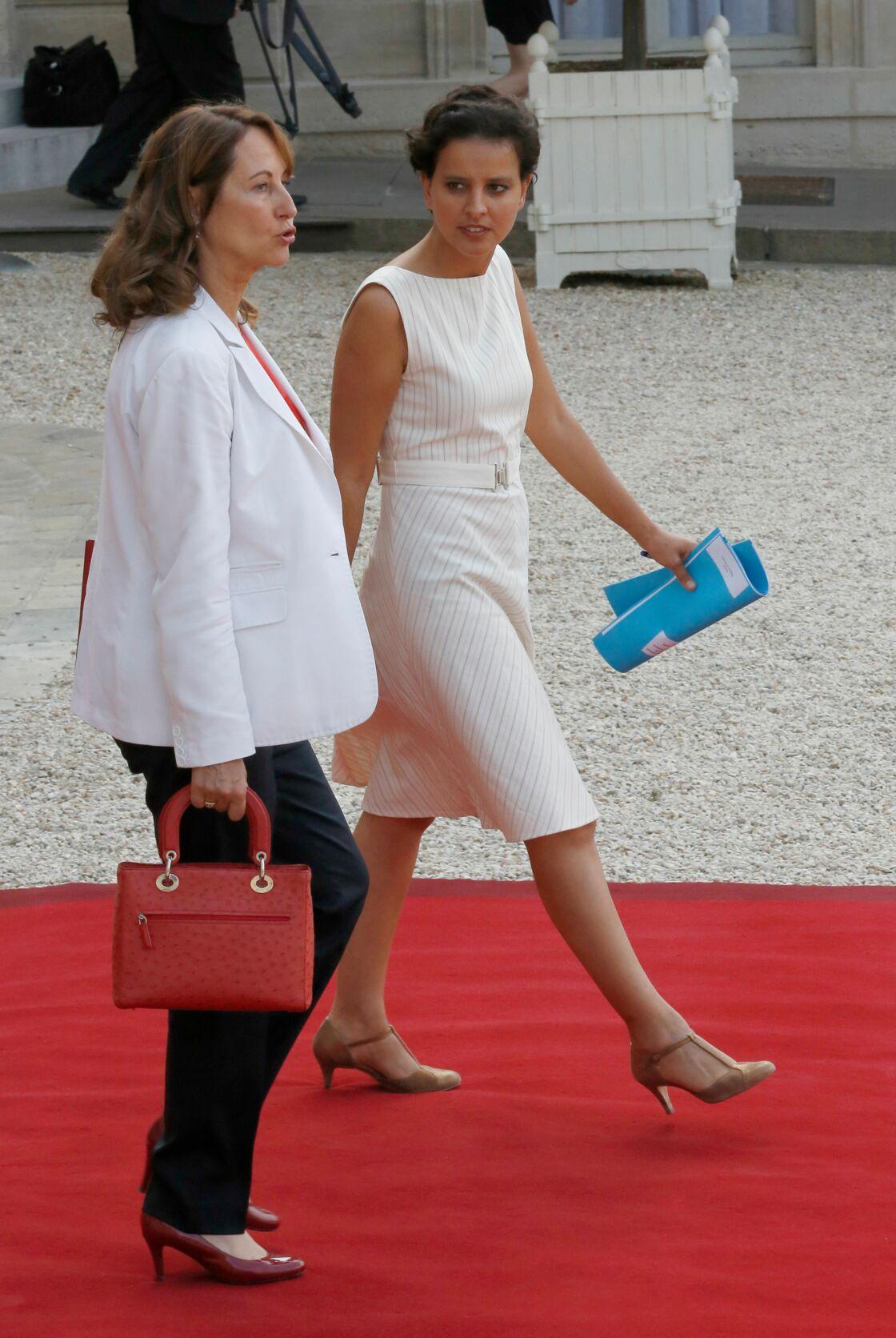 Ségolène Royal et Najat Vallaud-Belkacem