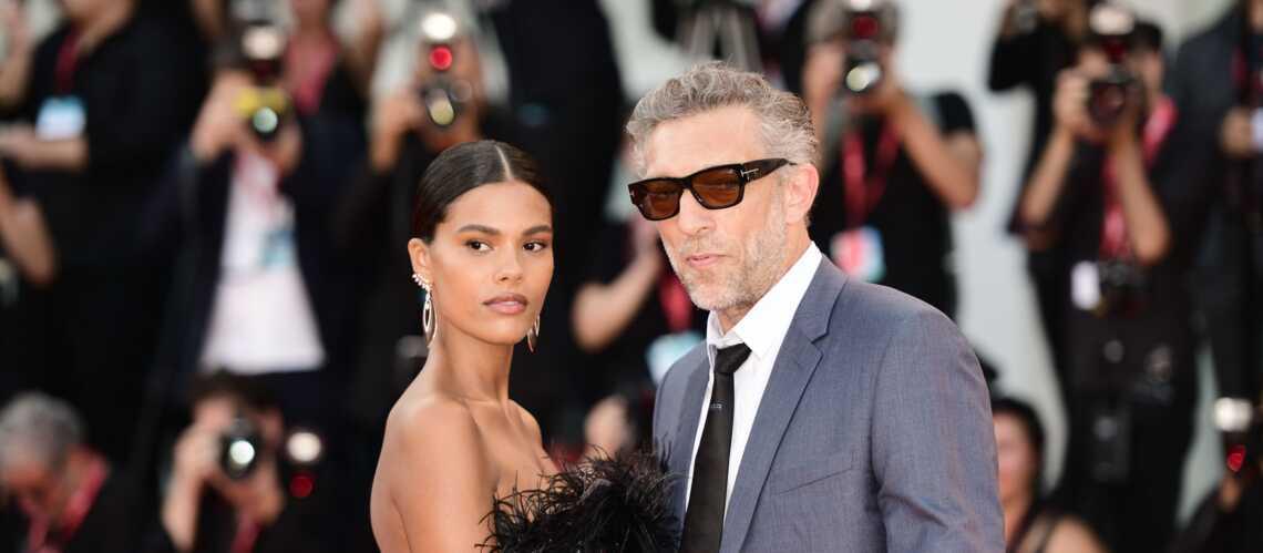 PHOTOS – Tina Kunakey et Vincent Cassel, un couple glamour et complice à la Mostra de Venise - Gala