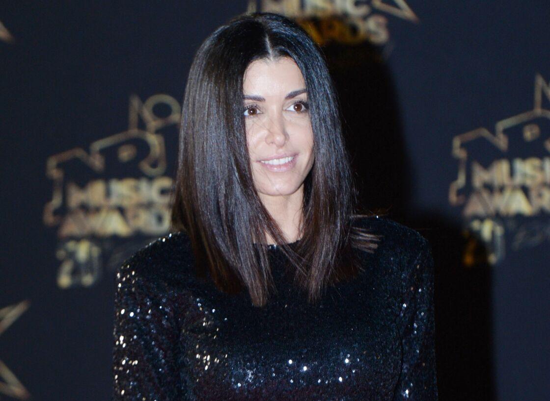 Jenifer aux NRJ Music Awards, à Cannes, le 10 novembre 2019.