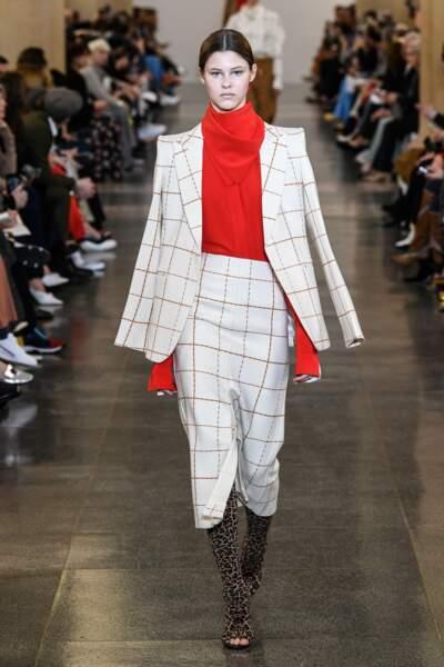 """Défilé de mode prêt-à-porter automne-hiver 2019/2020 """"Victoria Beckham"""""""