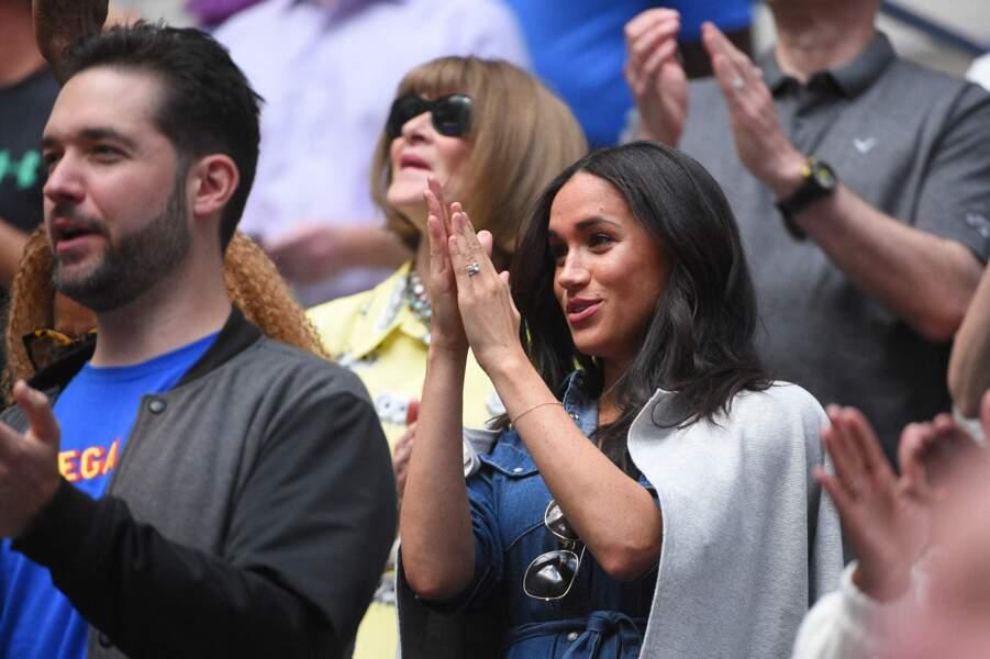 La meilleure amie de Meghan Markle disputait la finale de l'US Open face à la Canadienne Bianca Andreescu