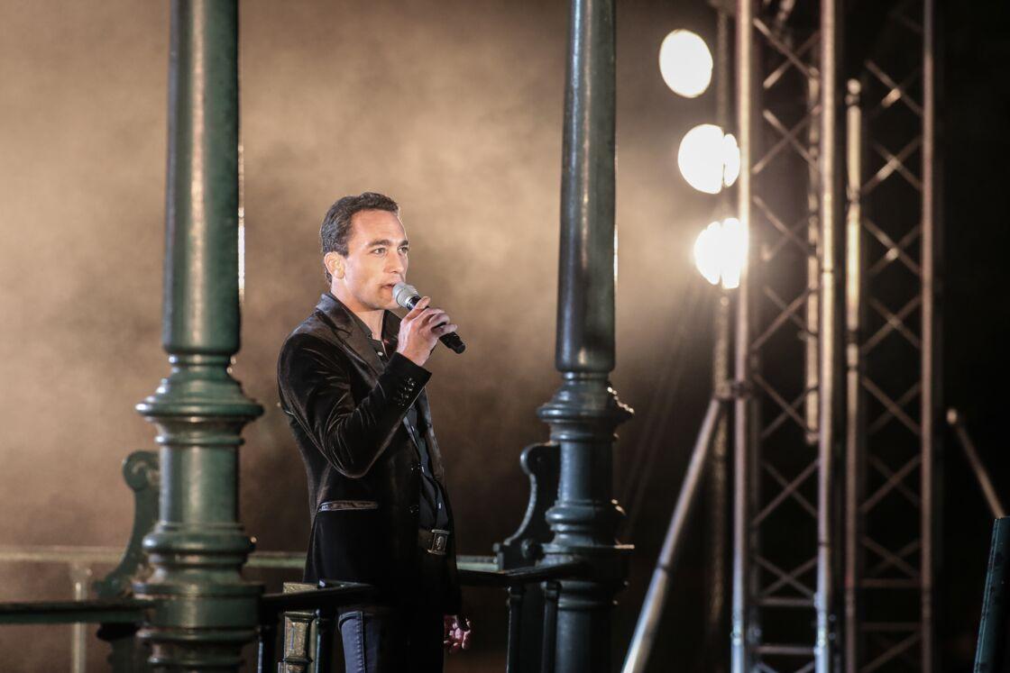 Jean-Baptiste Guégan en concert à Croix, le 7 septembre 2018.