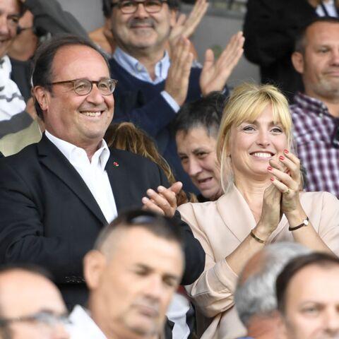 PHOTOS – Julie Gayet et François Hollande tout sourire: loin de l'Elysée, le couple s'affiche