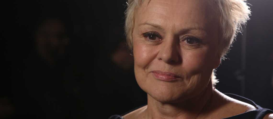 Muriel Robin, victime d'une embolie pulmonaire en 2016, en ...
