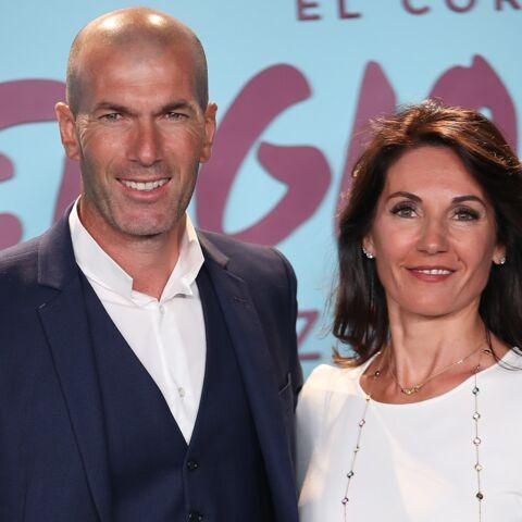 PHOTOS – Zinedine Zidane et sa femme Véronique, ultra élégants, posent en assortissant leur look