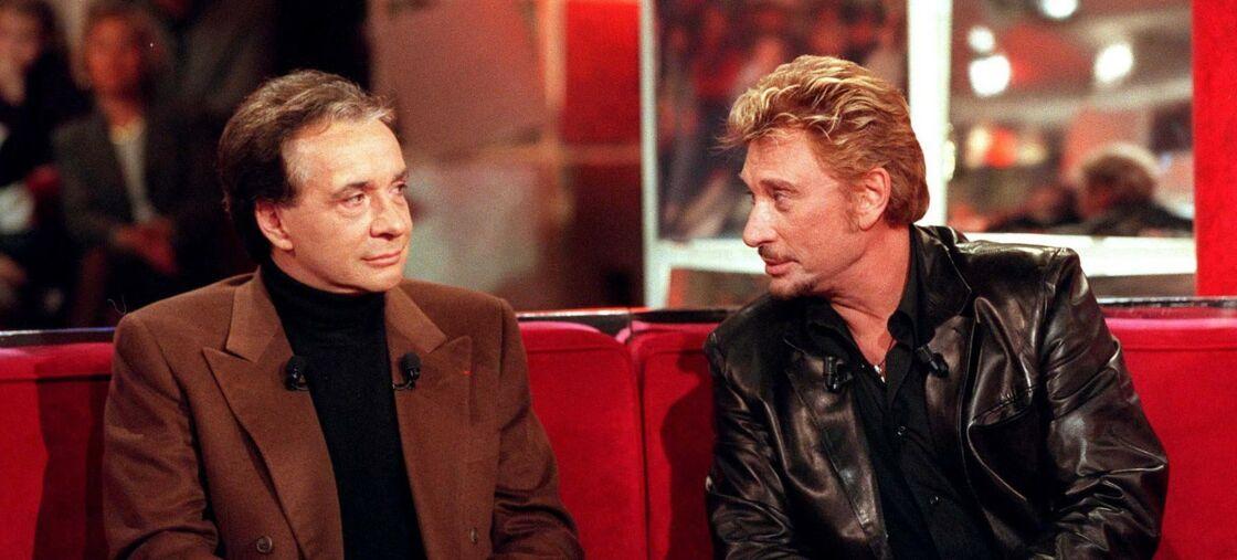 Michel Sardou et Johnny Hallyday invités de l'émission