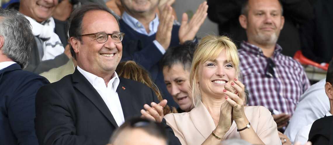 Julie Gayet, supportrice enamourée de François Hollande - Gala