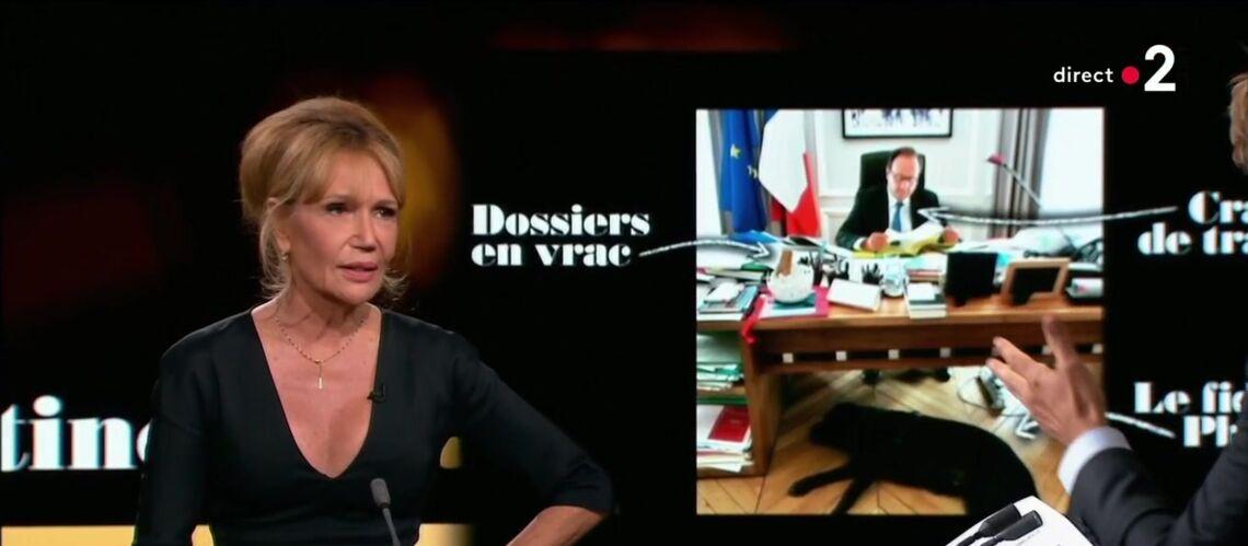 VIDÉO – Clémentine Célarié, embarrassée par une question sur son soutien à François Hollande - Gala
