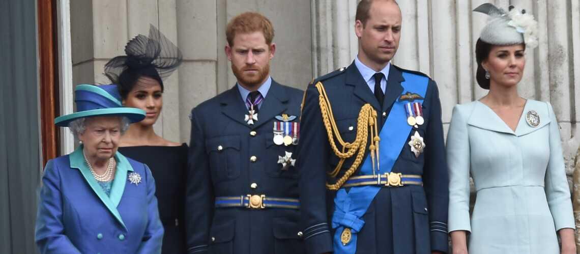 La vraie raison pour laquelle Elizabeth II ne veut pas parler d'Harry et Meghan Markle - Gala
