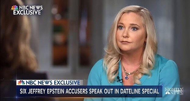 Virginia Roberts Giuffre, 35 ans, s'est livrée dans l'émission NBC News qui sera diffusée sur NBC ce vendredi 20 septembre.e.
