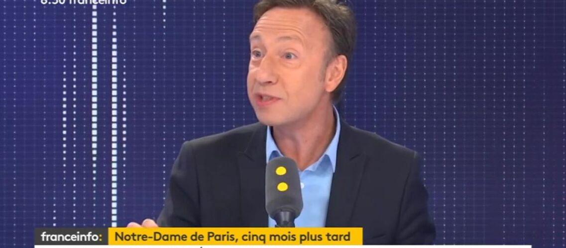 VIDÉO – Stéphane Bern confus : cet argent qu'il a dû s'empresser de redistribuer pour sauver Notre-Dame - Gala