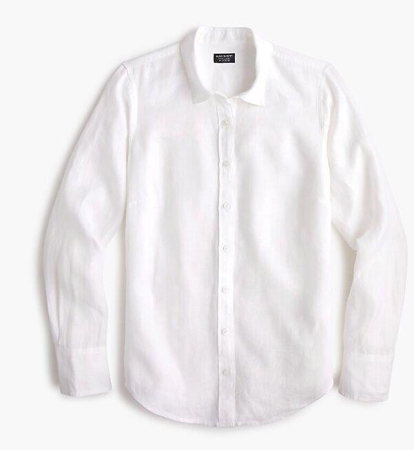 la chemise blanche de Meghan Markle est signée J.Crew à 110 €