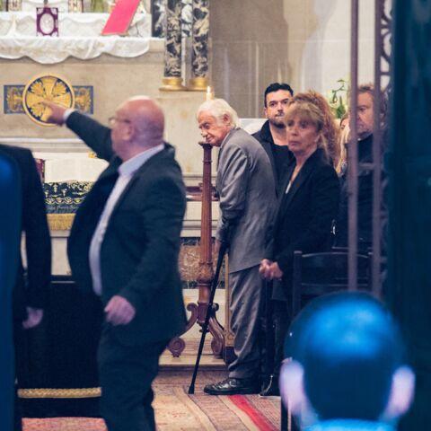 PHOTOS – Obsèques de Charles Gérard: Jean-Paul Belmondo présent pour un dernier hommage à son ami