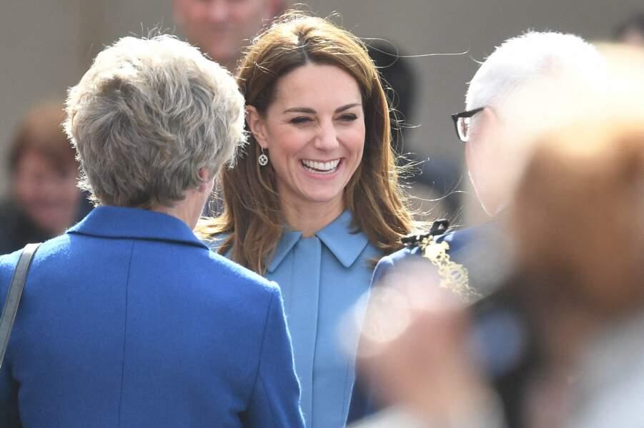 Kate Middleton semblait très détendue lors de cette journée passée aux côtés du prince William