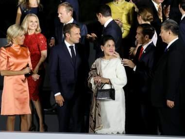 PHOTOS - Non Brigitte Macron n'a pas renoncé aux jupes courtes… la preuve
