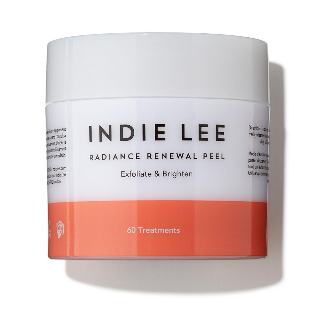 des compresses exfoliantes pour un max d'éclat, Les Radiance Renewal Pads, Indie Lee, 74 €, ohmycream.com