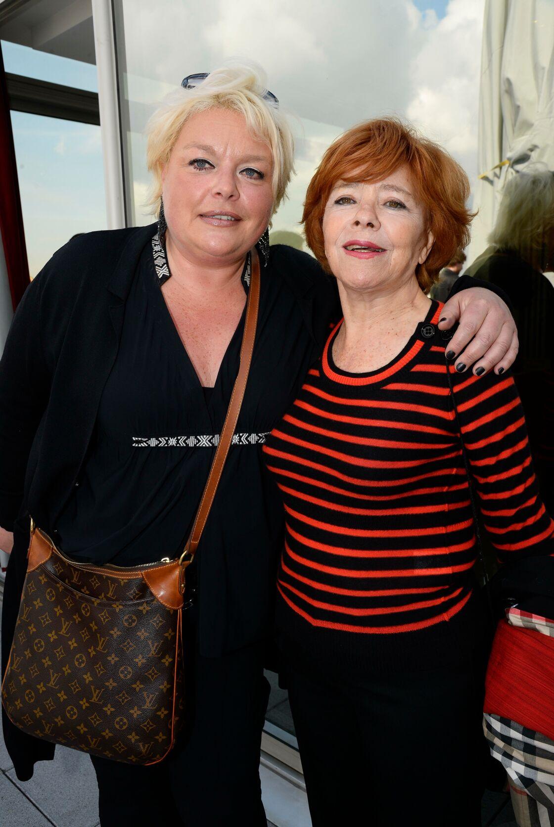 Jacqueline Chabridon à droite