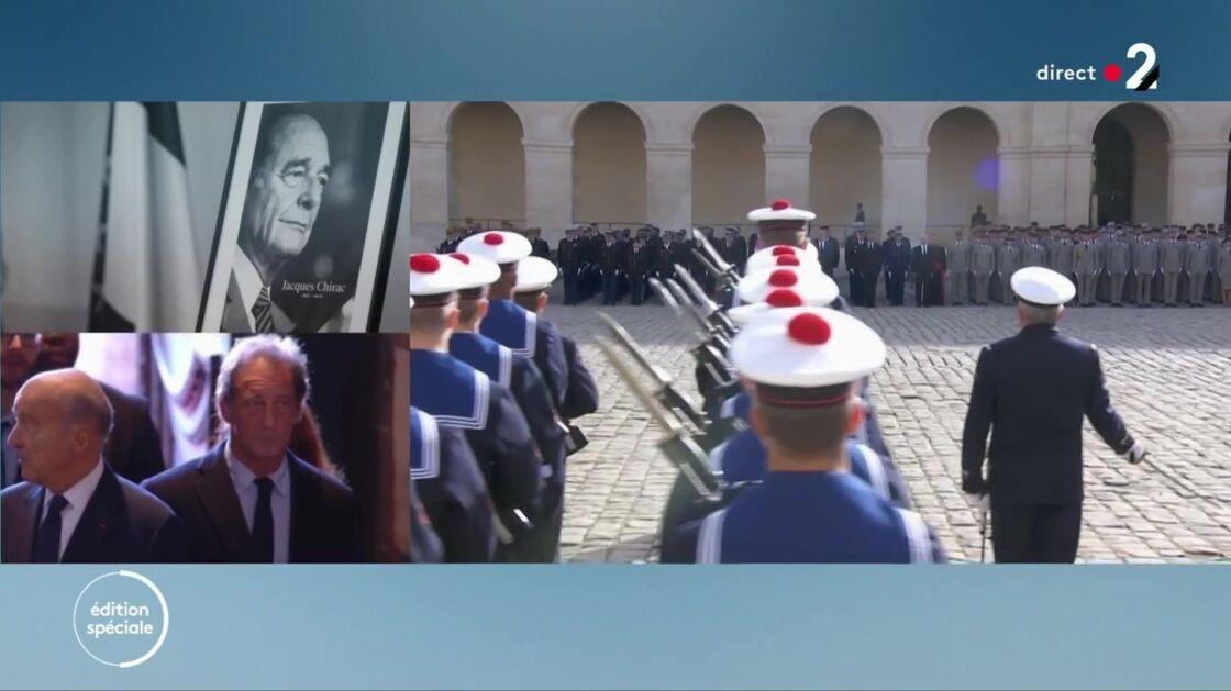 Vincent Lindon aux obsèques de Jacques Chirac, à l'église Saint-Sulpice, à Paris, le 30 septembre 2019