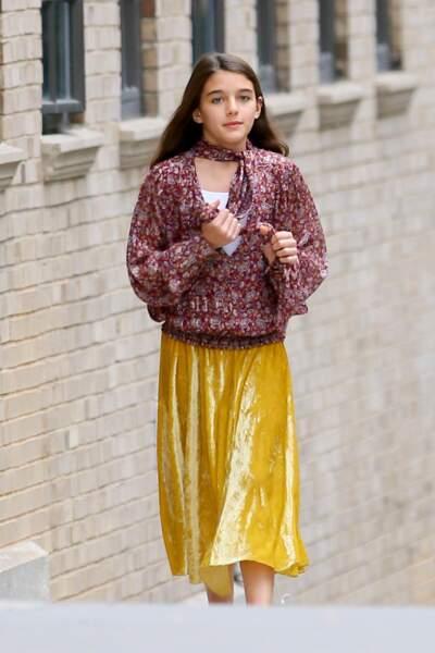 Suri Cruise, 13 ans et fan de mode comme sa mère Katie Holmes