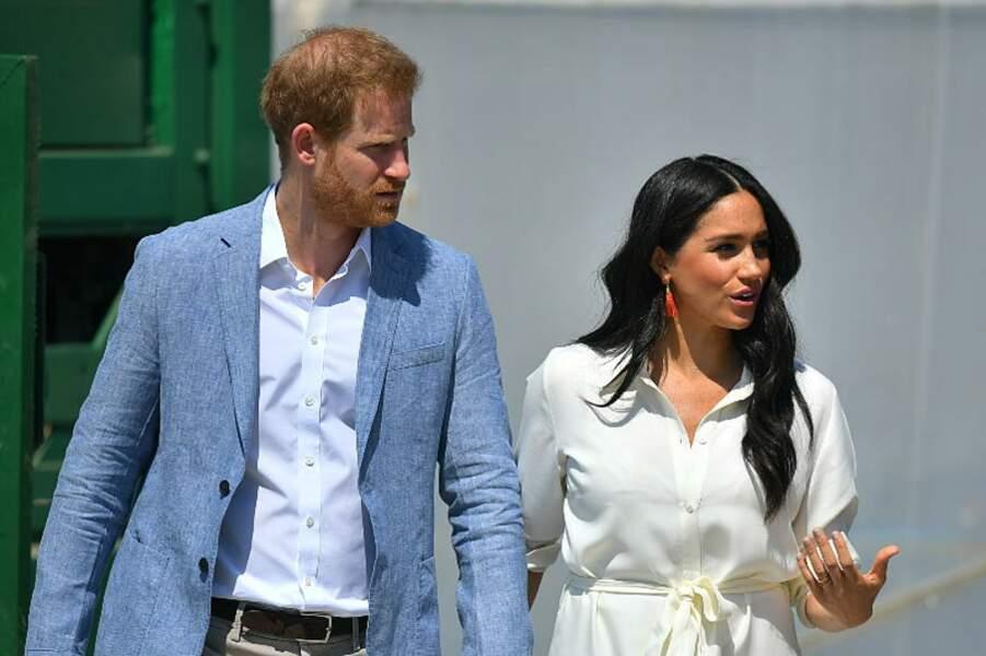 Meghan Markle et le prince Harry, complices après leur grande décision d'attaquer la presse.