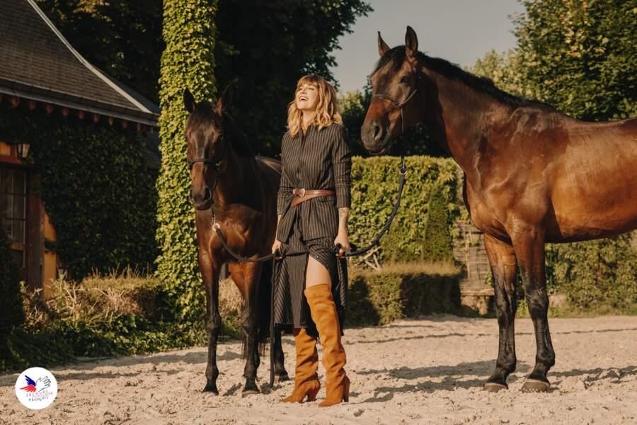 MADE BY SARENZA et Daphne Burki s'associent pour une collection de chaussures en soutien au Secours Populaire.