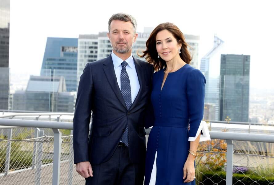 Le prince Frederik de Danemark et sa femme, la princesse Mary sont en voyage officiel à Paris pour 3 jours