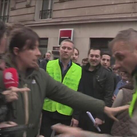 Caméra cassée, menaces: «agressée» à la Manif pour Tous, l'équipe de Quotidien contre-attaque